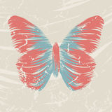 Retro butterfly Royalty Free Stock Photo