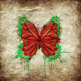 Retro butterfly design Royalty Free Stock Images