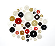Retro buttons Royalty Free Stock Photo