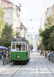 Retro cable tram car Royalty Free Stock Photo