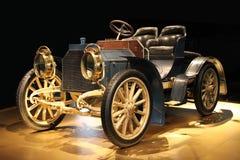 Retro cabriolet Arkivbilder