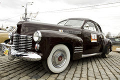 Retro Cadillac Royaltyfria Bilder