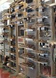 Retro calcolatore immagine stock