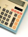 Retro calcolatore Immagini Stock