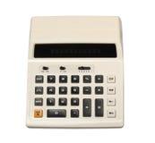 Retro calcolatore Fotografie Stock