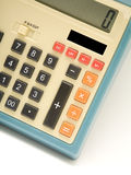 Retro Calculator Stock Afbeeldingen
