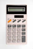 Retro calculator Royalty-vrije Stock Afbeeldingen