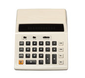 Retro Calculator Stock Foto's