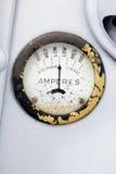 Retro calibro di ampère Fotografie Stock Libere da Diritti