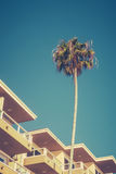 Retro California Hotel Royalty Free Stock Images