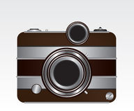 Retro camera Royalty Free Stock Photo