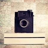 Retro camera Stock Photography