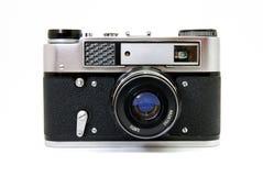 Retro camera Stock Afbeelding