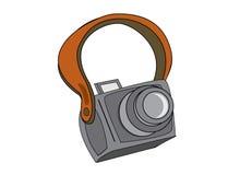 Retro camera royalty-vrije illustratie