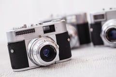 Retro camera Royalty-vrije Stock Afbeeldingen