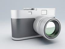Retro camera 3d Stock Images