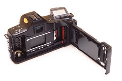 Retro camera isolated Royalty Free Stock Photos