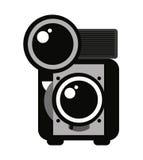 retro camera isolated icon design Stock Photo