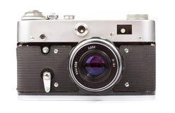 Retro camera isolated. On white background Stock Photography