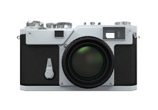 Retro Camera Isolated Royalty Free Stock Image