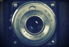 Retro camera lens Royalty Free Stock Photography