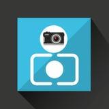 Retro camera photographic Stock Photo