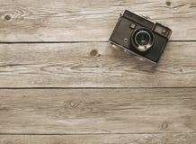 Retro camera van de filmfoto Royalty-vrije Stock Afbeeldingen