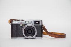 Retro camera with white background Stock Photography