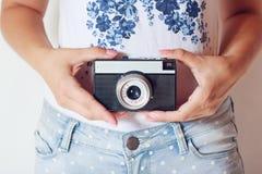 Retro camera Stock Images