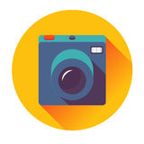 Retro cameral icon Stock Photos