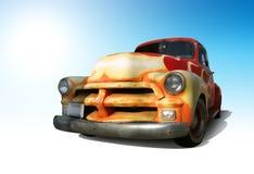 Retro camion Immagine Stock