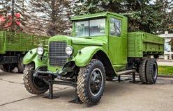 "Retro camion sovietico ""Ural ZIS-5 "" immagini stock"