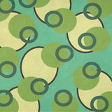 Retro Camouflage Circles Pattern Textured Paper Stock Images