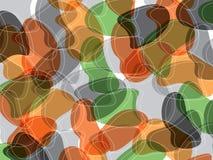 Retro camouflage pattern Stock Image