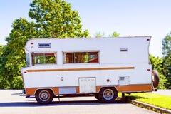 Retro Camper Stock Image