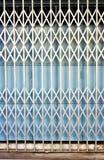 Retro cancello pieghevole Fotografia Stock Libera da Diritti