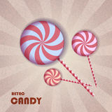 Retro candy Royalty Free Stock Photos