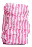 Retro candy stripe sweet bag Royalty Free Stock Photography
