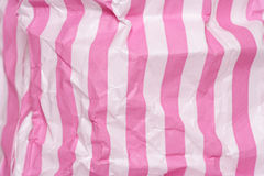 Retro candy stripe sweet bag abstract Royalty Free Stock Image