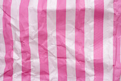 Retro candy stripe sweet bag background Stock Photography