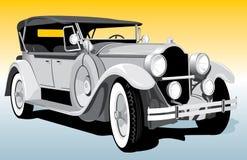 Retro car. Vector illustration classic retro car Stock Image