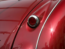 Retro car. Rear light of retro car royalty free stock photo