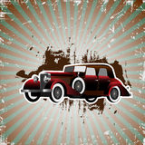Retro car Royalty Free Stock Image