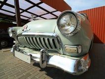 Retro car. Old retro car shot, original lighting Royalty Free Stock Images