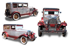 Retro the car Royalty Free Stock Image