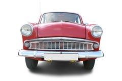 Retro car. Isolated on white Royalty Free Stock Photos