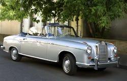 Retro car. Old and regenerate german car - a cabriolet Stock Photos