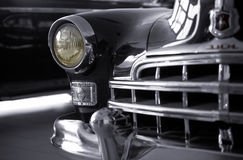 Retro car. Old russian ZIM ( from old american Cadillac stock images
