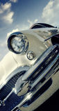 Retro car. American classics 1950s 1958  50s Royalty Free Stock Photography