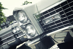 Retro car - American classics royalty free stock images
